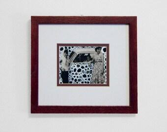 "8x9 Framed Fine Art Print. ""Bubbly"""