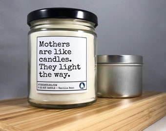 Mother's Day Gift Mothers Day Soy Candle Mom Candle Mother's Day Candle Gift for Mom Gifts for Mom Personalized Mothers Day Gift Mom