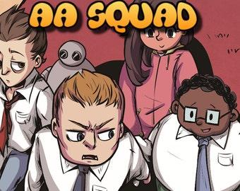 AA SQUAD Issue #1 (Digital Comic Book)