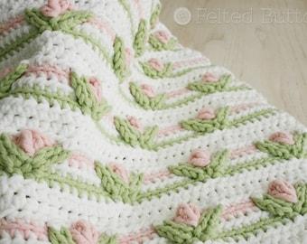 Crochet Pattern, Cushion Cover, Pillow, Little Dutch Girl