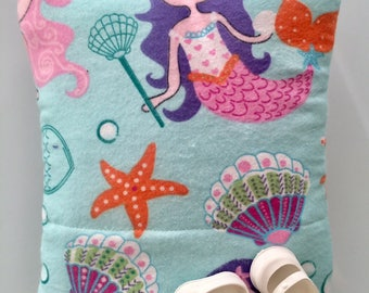 Baby Doll Bunting Baby Bag Pillow Blanket in One for Dolls Original Design Mermaids