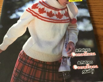 O CANADA - Knitting Patterns Booklet Only