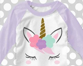 unicorn svg, unicorn with flowers, unicorn with bangs svg, svg, unicorn, unicorn shirt, unicorn svg files, cutter files, dxf, shortandlemons