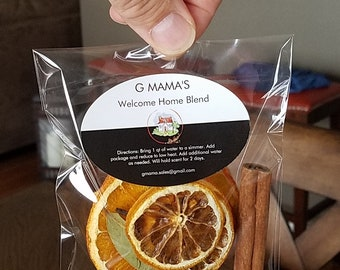 G MAMA'S Welcome Home Blend Simmering Potpourri (All Natural)