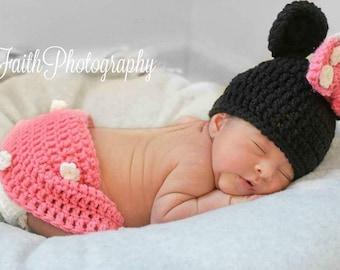 Crochet Mini mouse outfit