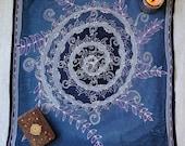 Purple Vortex Mandala - H...
