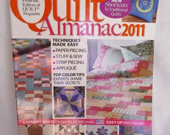 Vintage Quilt Almanac 2011 Magazine, Quilt Patterns, Craft Projects, Sewing Patterns, Sewing, Scrappy Quilts, Sewing Techniques, Pincushion