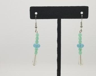 aquamarine dangles