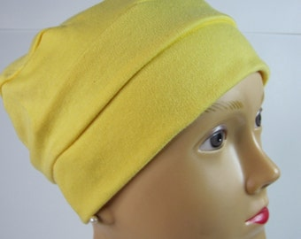 100% Cotton Adult Yellow Hat on SALE
