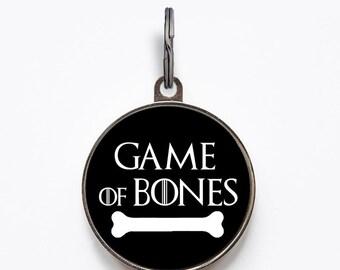 Game Of Bones Pet ID Tag | FREE Personalization