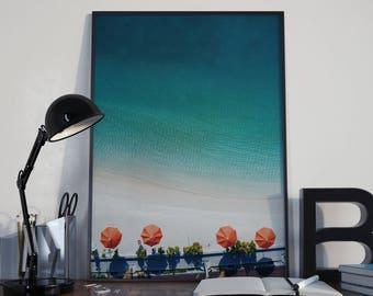 Art Print // Beachy