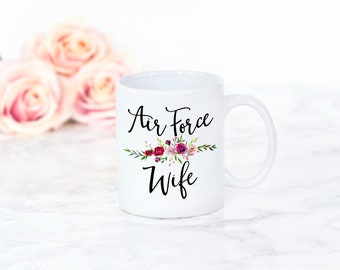 Deployment Gift Air Force Wife Gift Military Gift Deployment Mug Air Force Wife Mug Coffee Cups milso spouse