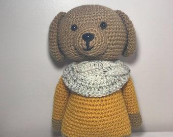 Crochet Lincoln The Dog