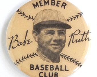 Babe Ruth Baseball Club Fridge Magnet