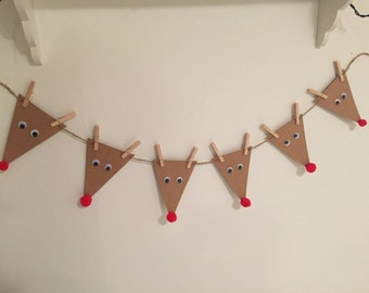 Rudolph the Red Nose Reindeer Banner