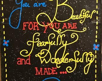 Slate Art—Fearfully and Wonderfully Made