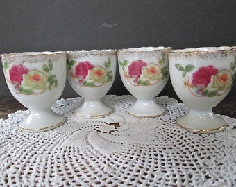 Four Small Egg Cups