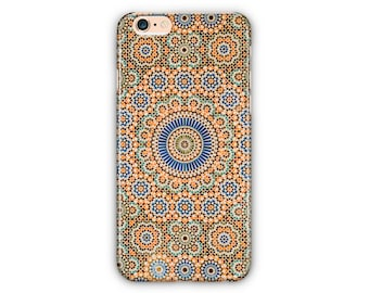 Ornaments Moroccan Phone Case for iPhone 8 / iPhone7/7Plus,iPhone6/6Plus iPhone5 Samsung GalaxyS8/S8 edge /  S7/7edge/S6/S6 edge/S5