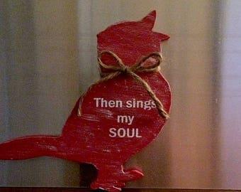 Bird Magnet | Refrigerator Magnets | Fridge Magnets | Kitchen Decor | Door Decor | Christian Decor