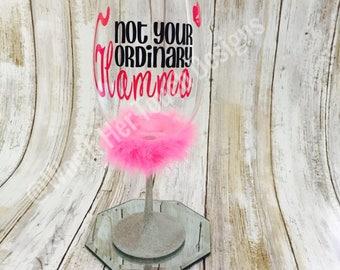 Glamma Wine Glass- Grandmother