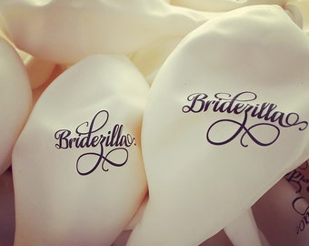 Funny Wedding balloons - Great photobooth idea - Bridezilla