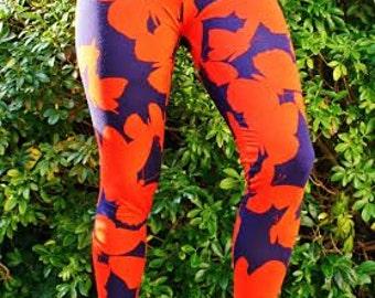 Women's Leggings sewing pattern; womens tights leggings sewing pattern; leggings sewing patterns pdf womens leggings pants Seamingly Smitten