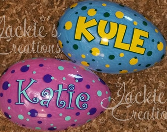 Personalized Easter Egg- JUMBO SIZED