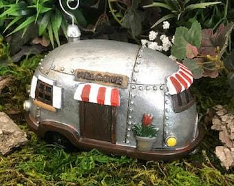Miniature Fairy Camper / Trailer