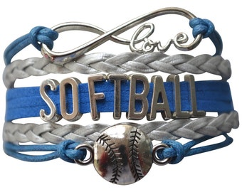 Softball Gift -Softball Bracelet – Softball Gift - Perfect for Softball Players, Softball Coaches & Softball Team Gifts