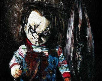 Child's Play Chucky Limited Edition Art Print