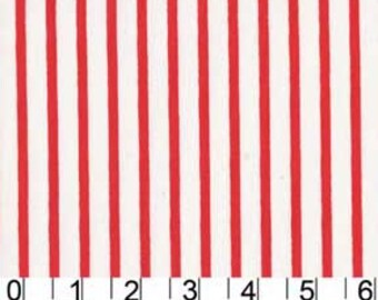 Sarah Jane for Michael Miller, Out to Sea, Pirate Stripe in Flame DC5626 - 1 Yard