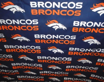 special order Denver Broncos  toddler booster seat cover--booster seat not included
