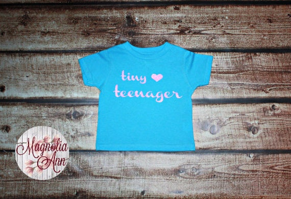 Tiny Teenager Heart, Toddler T-Shirt, Toddler Graphic Tee, Toddler Shirt,  Trendy Tee, Toddler Clothes