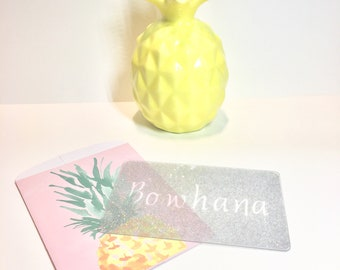 Bowhana Washi Card made by Created2Twirl