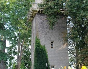 Brick Tower- Photograph