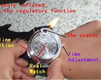 Novelty Collectible Watch Cigarette Butane Lighter