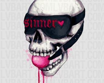 Dominated Til Death Fine Art Print