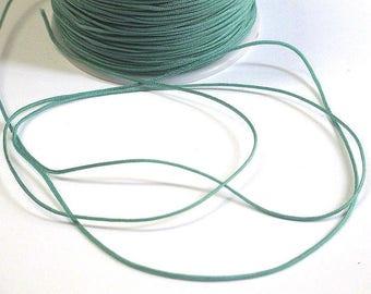 5 m nylon string green Emerald 1 mm