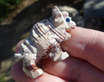 Buffalo/Bison Soapstone Carving