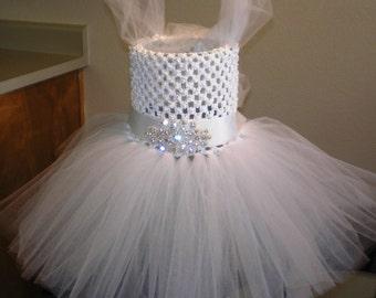 Flower Girl Tutu, Wedding Accessories, Tutu Dress, Easter Tutu Dress, Party Tutu Dress, Pageant Dress