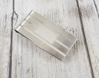 Vintage Sterling Silver Money Clip by Leonore Doskow