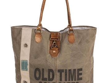 Old Time Canvas Tote Bag