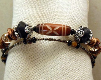 Colors of Fall bracelet