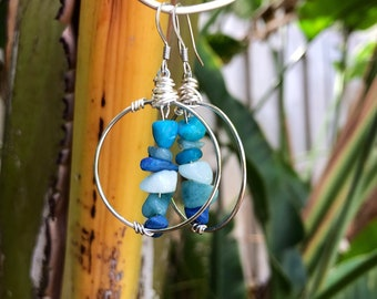 Bead & Wire boho earrings