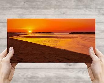 East Beach Sunset, Norfolk VA, Fine Art Photographic Print, Photo, Beach Photography, Canvas Print, Art, Photo Art, Sunset, Beach Life #12