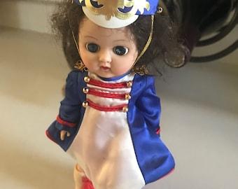Vintage UK marching girl doll