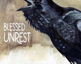 Impression de troubles béni — Abacus Corbeau