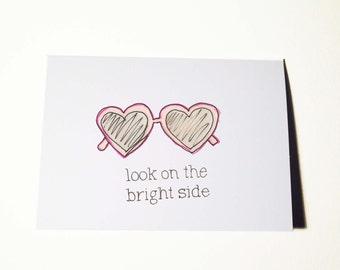 Bright Side Break Up Card