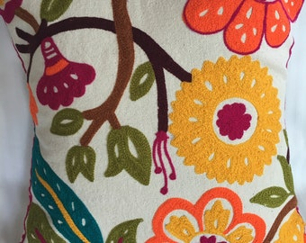 decorative handmade pillow case