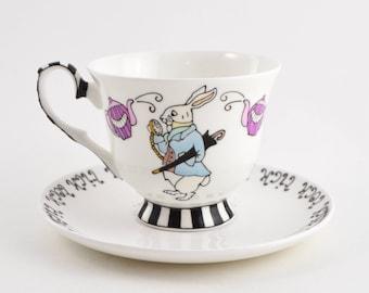 Alice's Tea Party Tea Cup